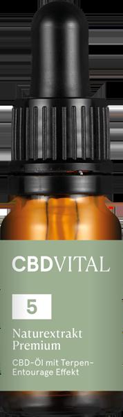 cbd vital 5% Premium Öl